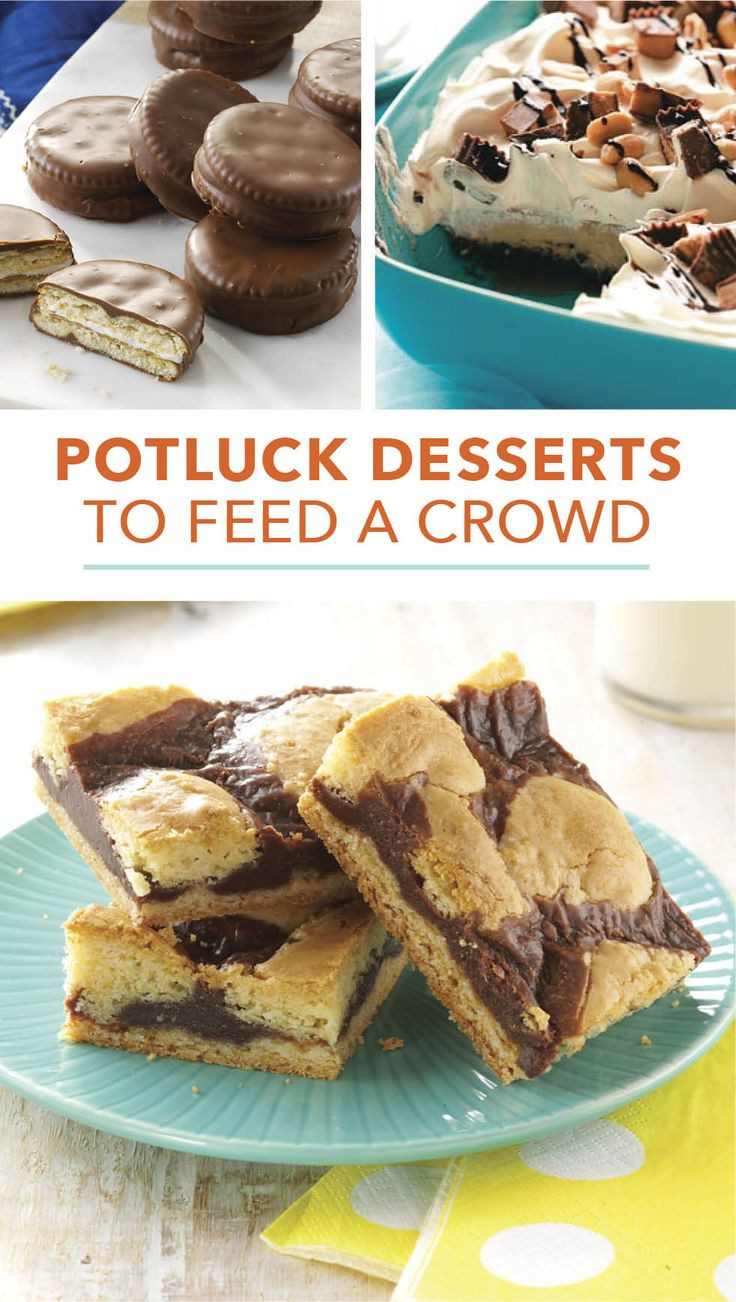 Potluck Dessert Ideas  1000 images about Potluck Recipes on Pinterest