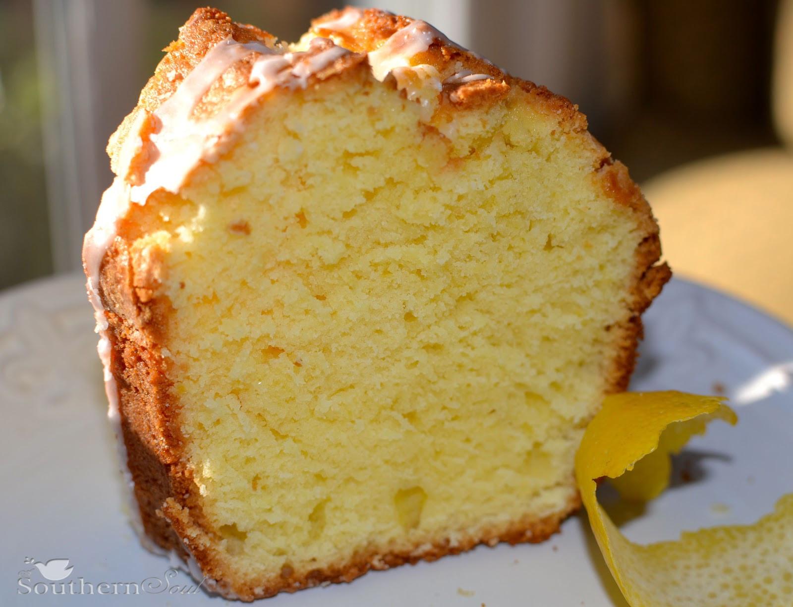 Pound Cake Recipes From Scratch  Lemon Pound Cake A Southern Soul