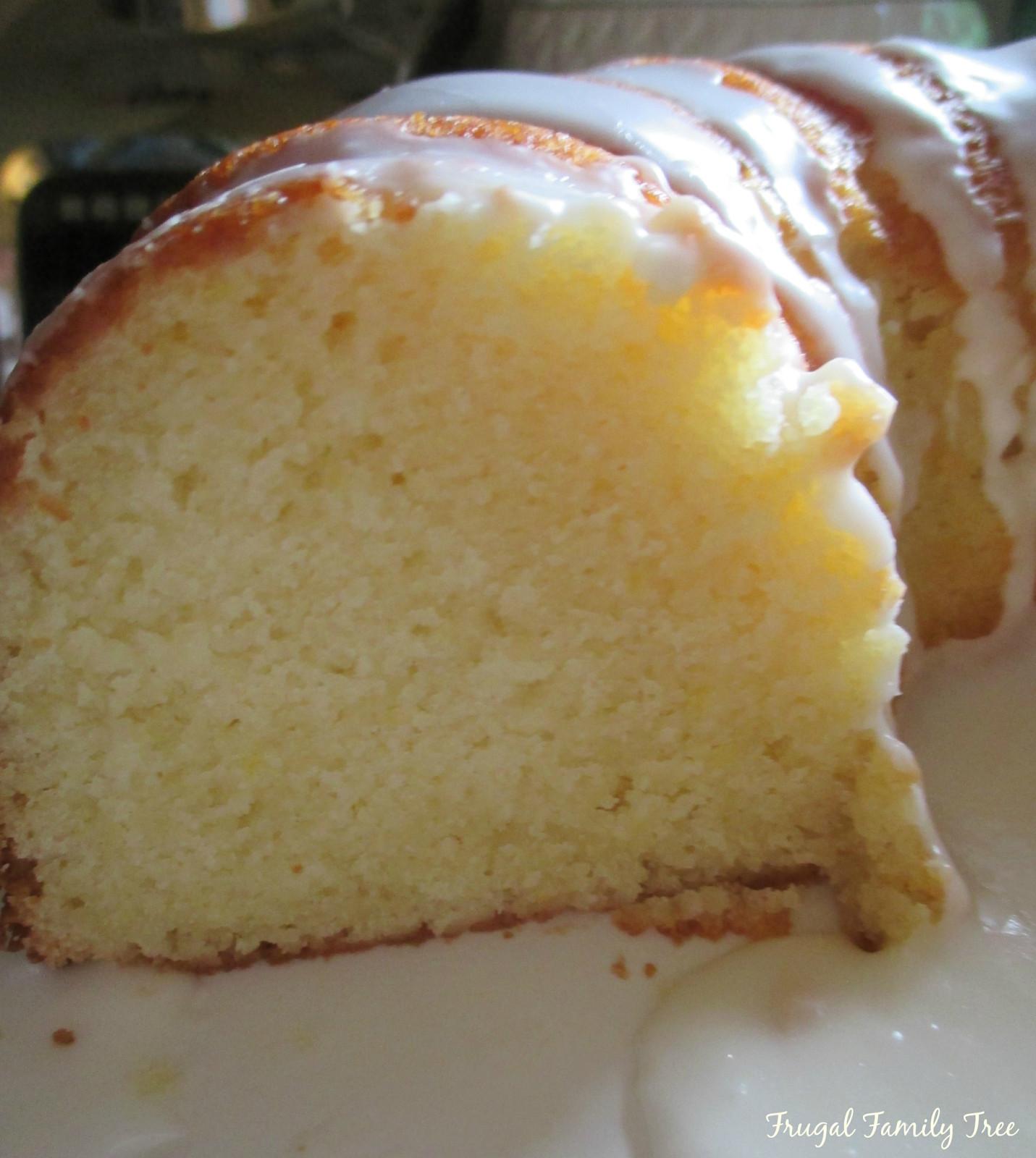 Pound Cake Recipes From Scratch  Lemon Pound Cake