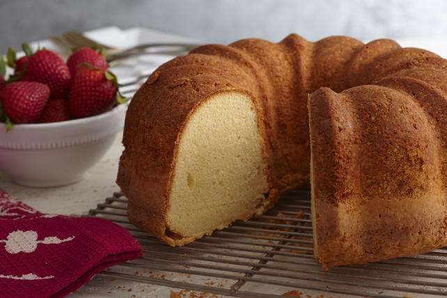 Pound Cake Recipes From Scratch  Mildreds Sour Cream Pound Cake from Scratch Kraft Recipes