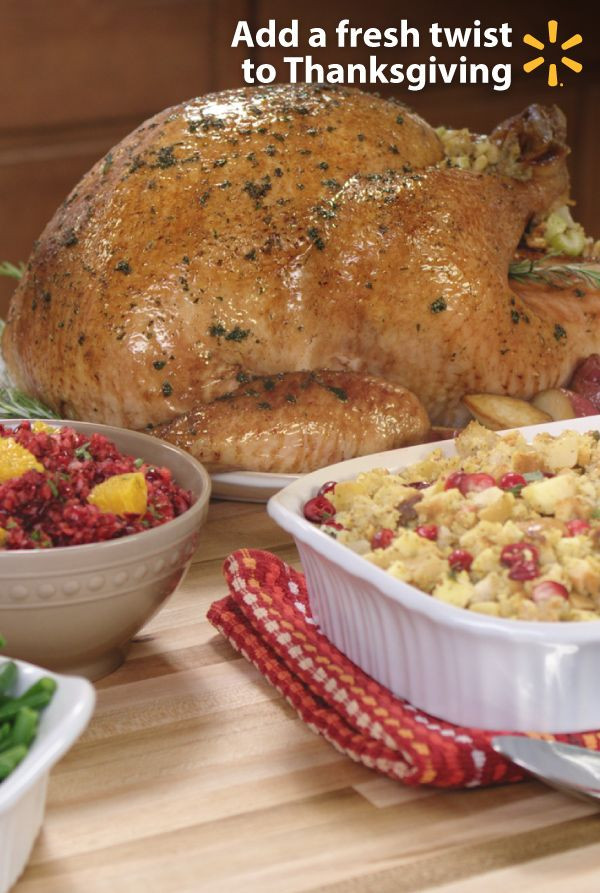 Pre Cooked Thanksgiving Dinner Walmart  4 Fresh Takes on Thanksgiving Sides