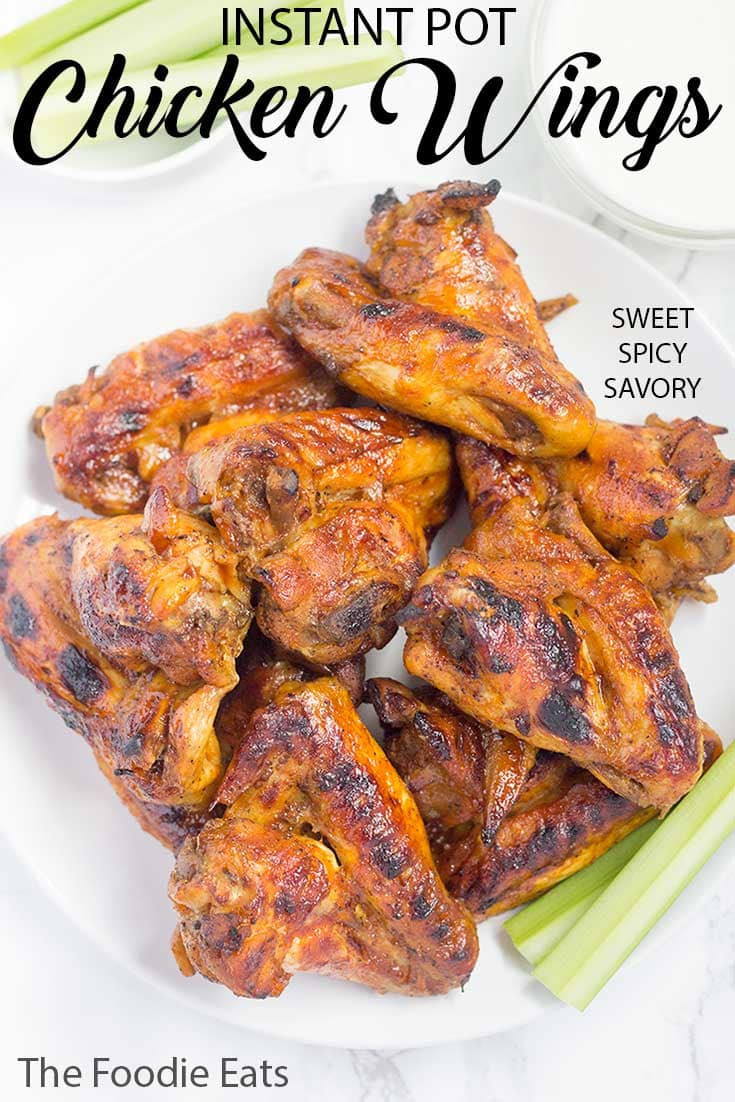 Pressure Cooker Chicken Wings  Pressure Cooker Chicken Wings Sweet Spicy Savory