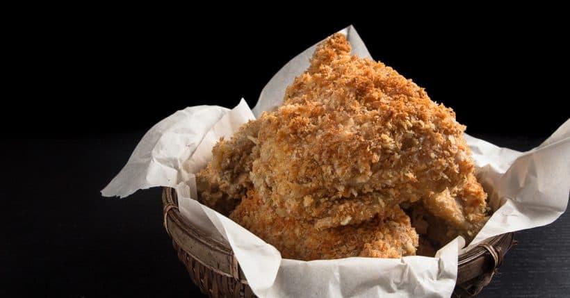 Pressure Cooker Fried Chicken  Crispy Pressure Cooker Chicken with Homemade Chicken Gravy