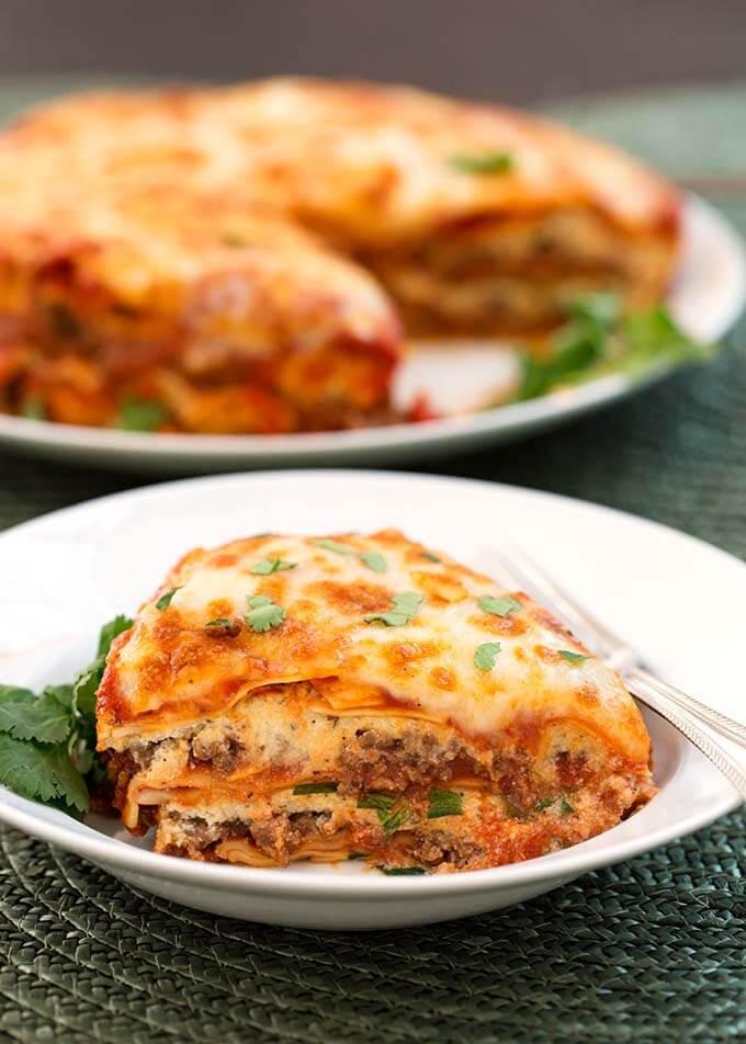 Pressure Cooker Lasagna  pressure cooker lasagna