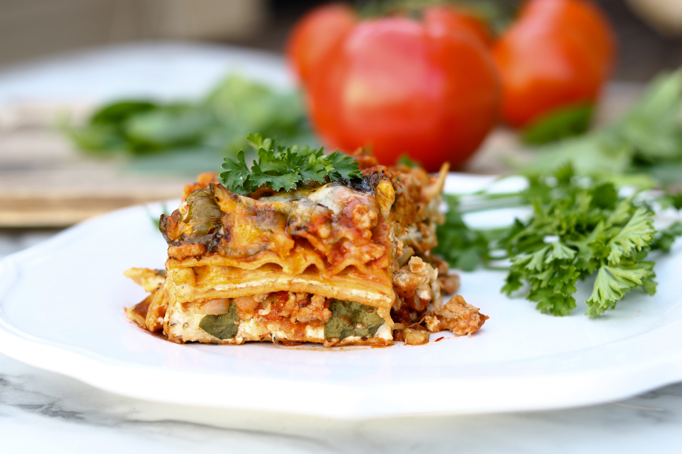 Pressure Cooker Lasagna  Healthy Lasagna in the Pressure Cooker A Cup Full of Sass