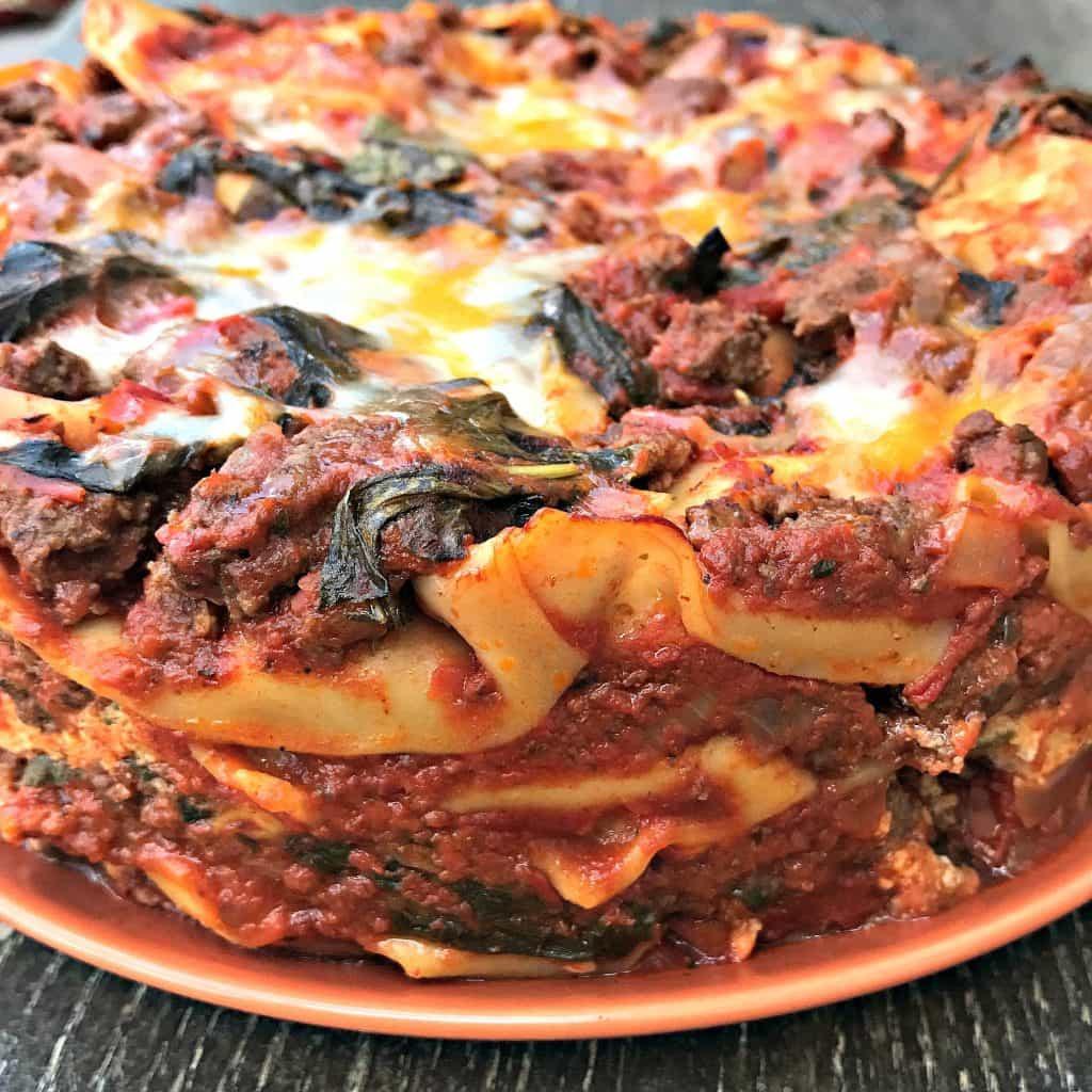 Pressure Cooker Lasagna  Easy Instant Pot Pressure Cooker Spinach Lasagna