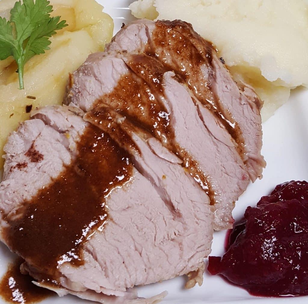 Pressure Cooker Pork Loin  Pressure Cooker Balsamic Spiced Apple Pork Tenderloin
