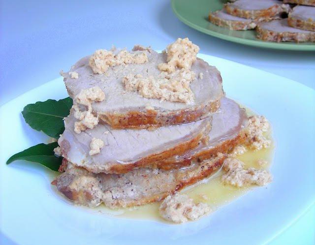 Pressure Cooker Pork Loin  By Request Pressure Cooker Pork Loin Braised in Milk