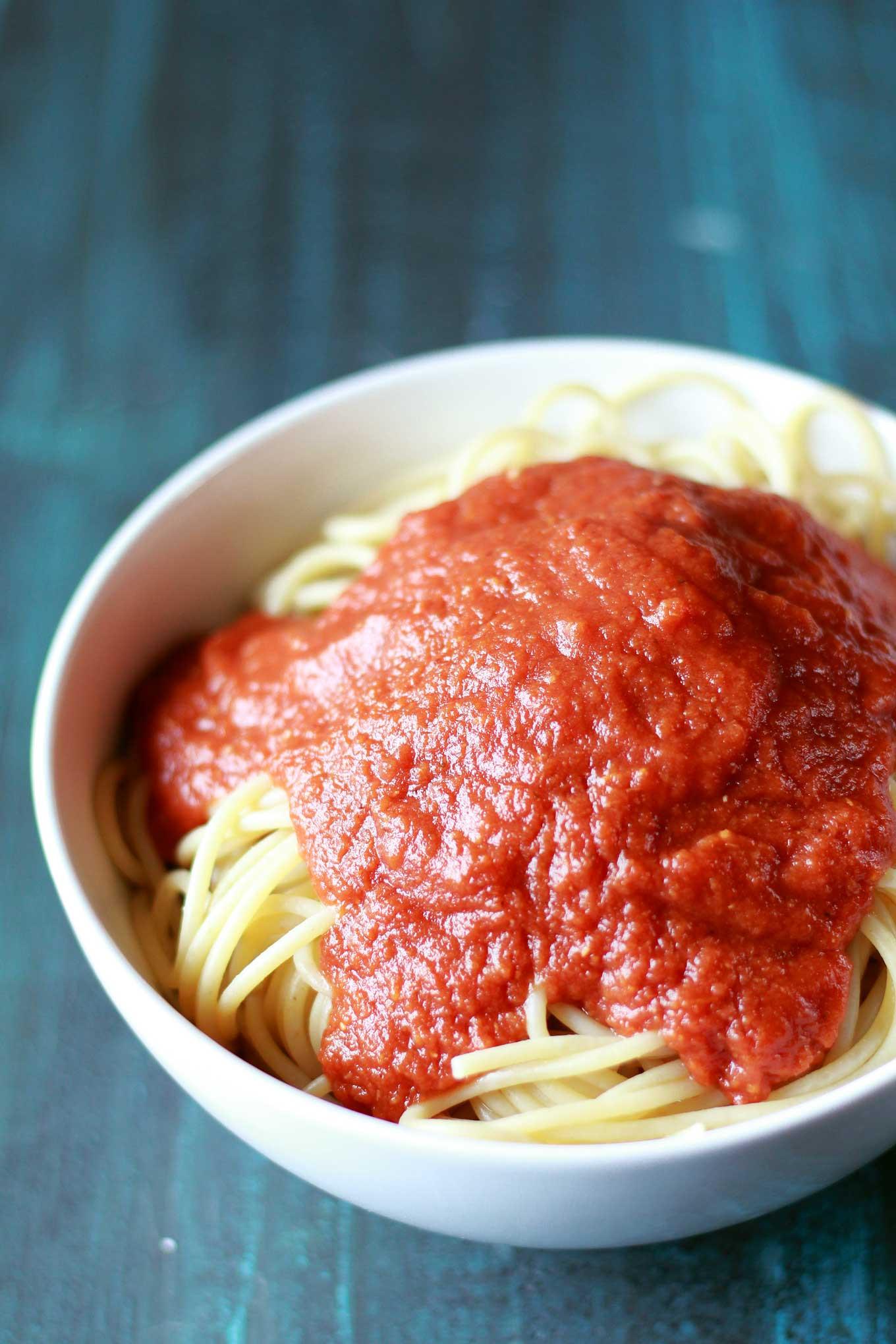 Pressure Cooker Tomato Sauce  Pressure Cooker Marinara Sauce