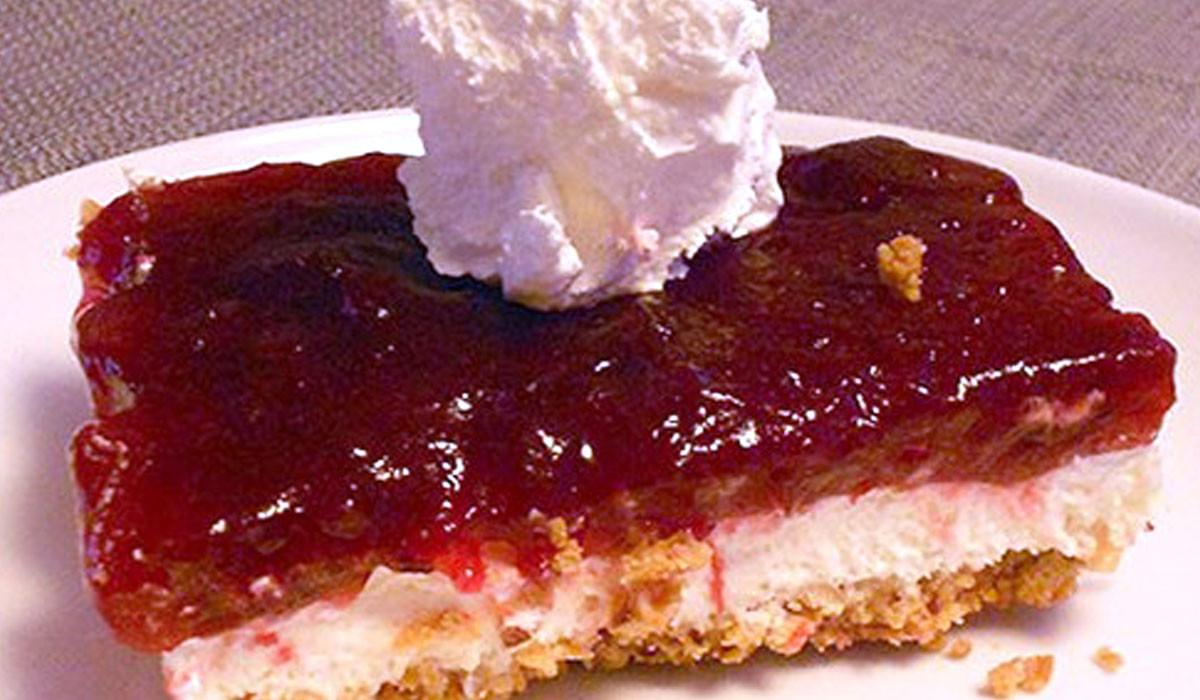 Pretzel Crust Desserts  Reinhart Foodservice Gluten Free Cranberry Dessert with
