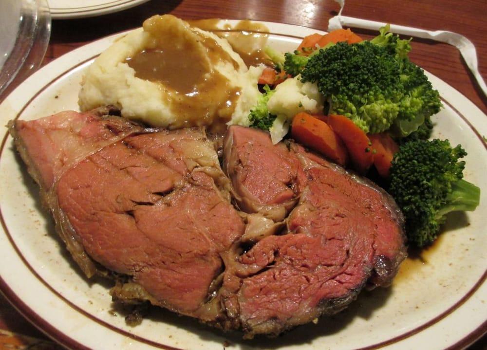 Prime Rib Dinner  prime rib dinner $15 99