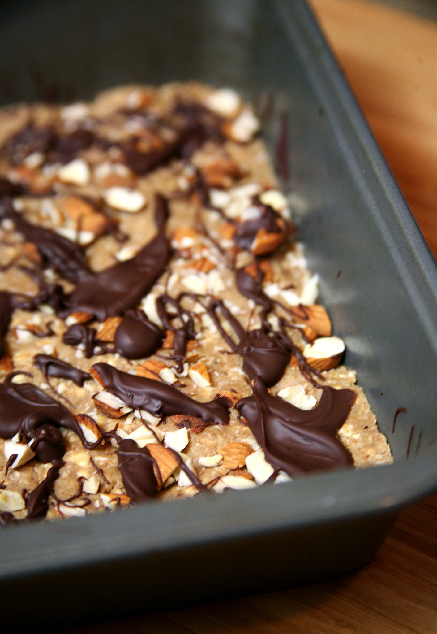 Protein Dessert Recipes  Chocolate Almond Protein Bars You ll Mistake For Dessert