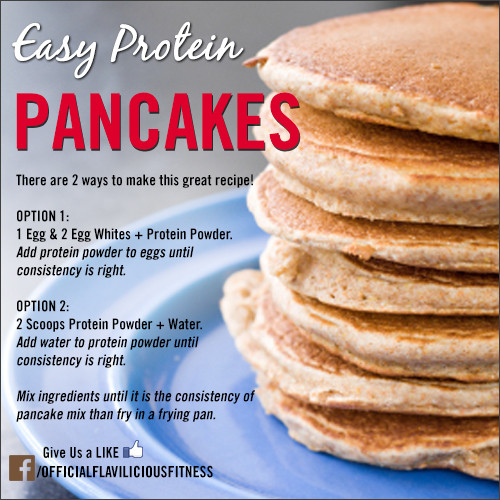 Protein Pancakes Recipe  Tasty Thursday Easy Protein Pancakes Exercises for