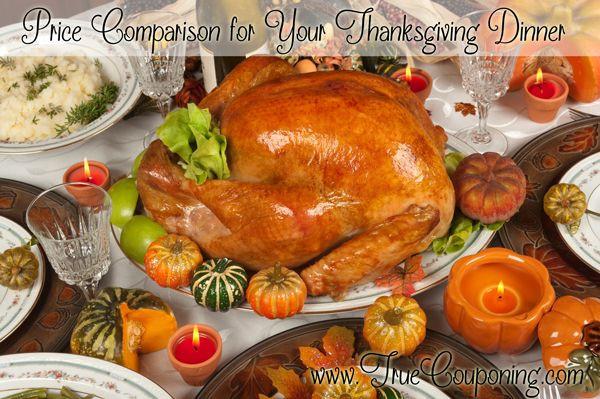 Publix Thanksgiving Dinner 2018 Cost  Price parison for Your Thanksgiving Dinner Week of 11