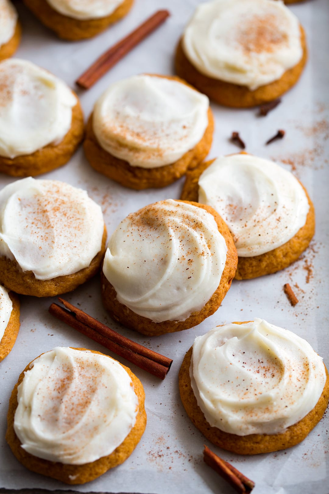 Pumpkin Cookies With Cream Cheese Frosting  Pumpkin Cookies with Cream Cheese Frosting Cooking Classy