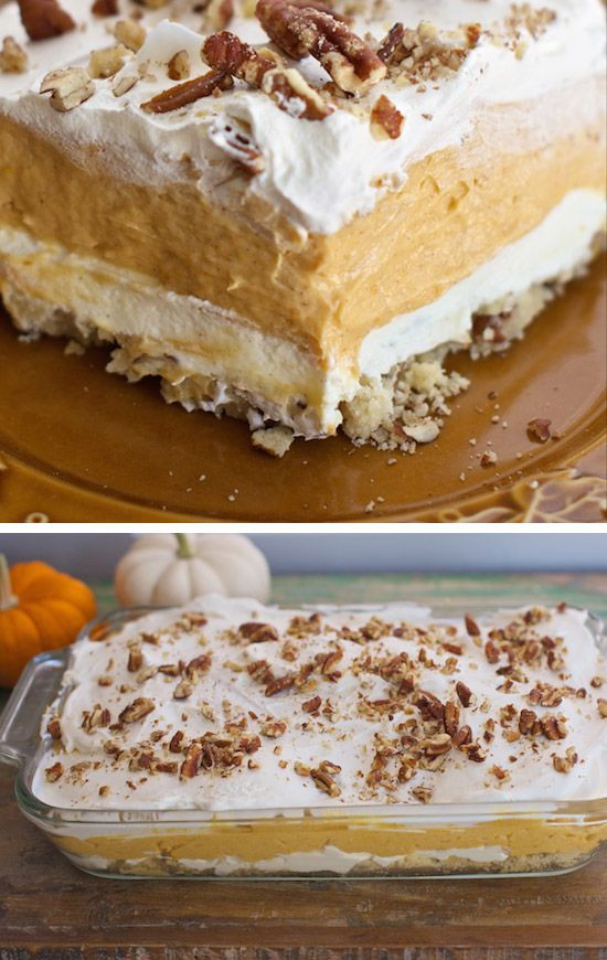 Pumpkin Dessert Recipe Easy  35 Deliciously Easy Thanksgiving Dessert Recipes