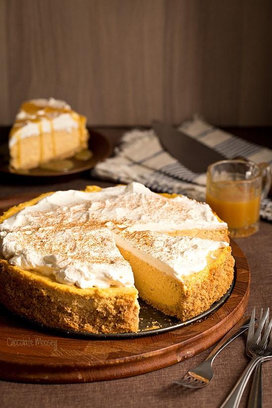 Pumpkin Dessert Recipe Easy  Pumpkin Cheesecake