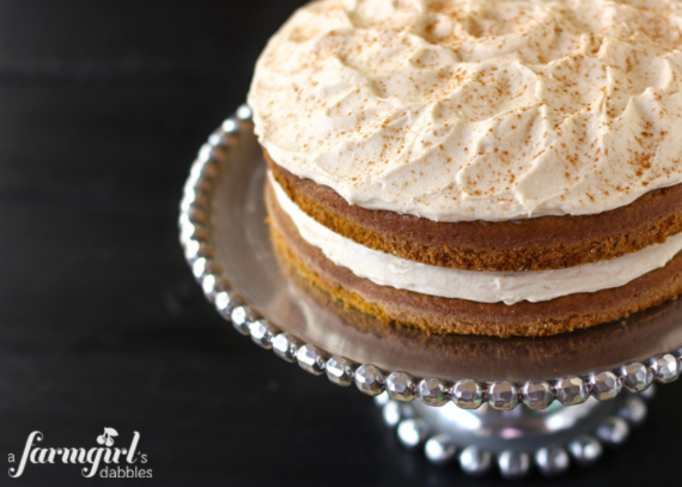 Pumpkin Layer Cake  35 ways to eat pumpkin other than more damned pie