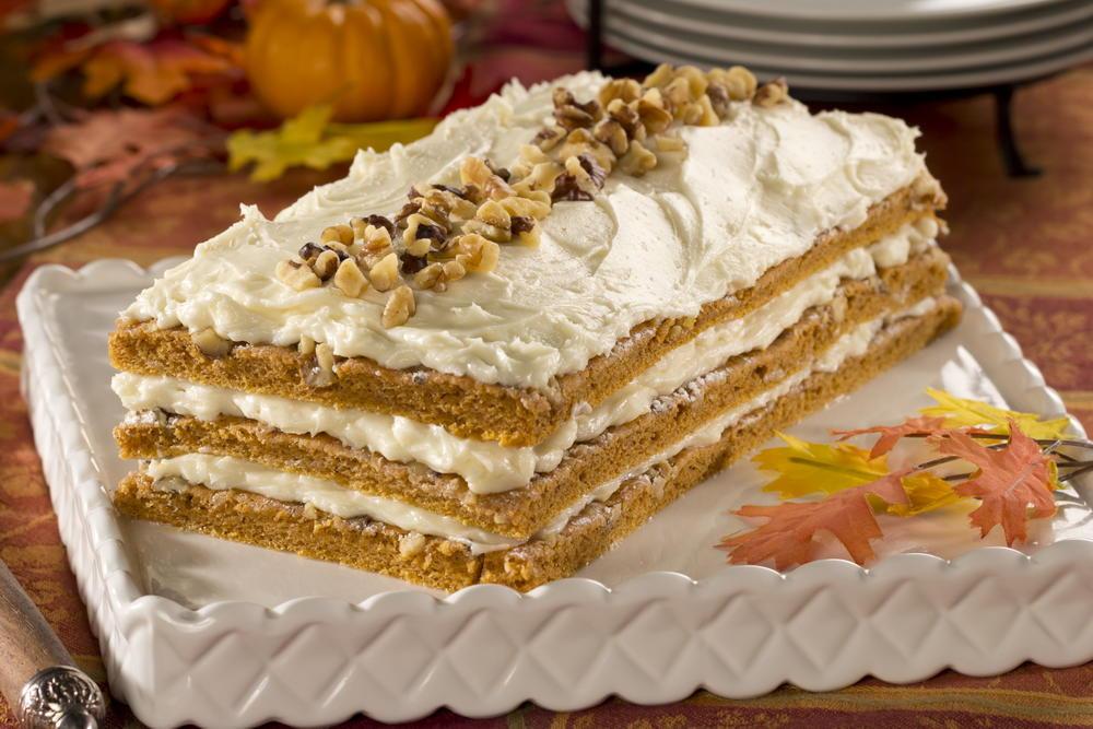 Pumpkin Layer Cake  Pumpkin Layer Cake