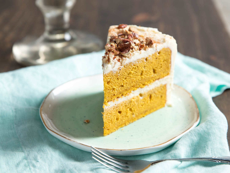 Pumpkin Layer Cake  Pumpkin Layer Cake Recipe