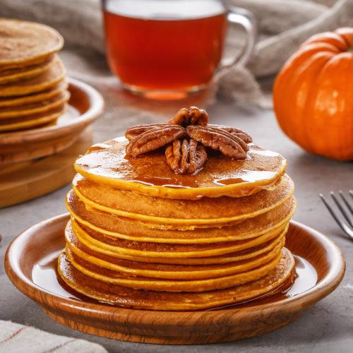 Pumpkin Pancakes Healthy  Healthy Pumpkin Pancakes Get Healthy U