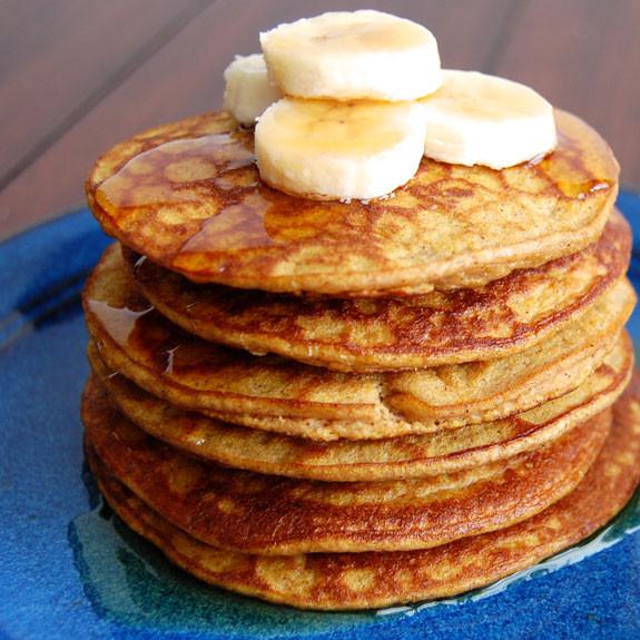 Pumpkin Pancakes Healthy  Healthy Pumpkin Pancakes Gluten Free