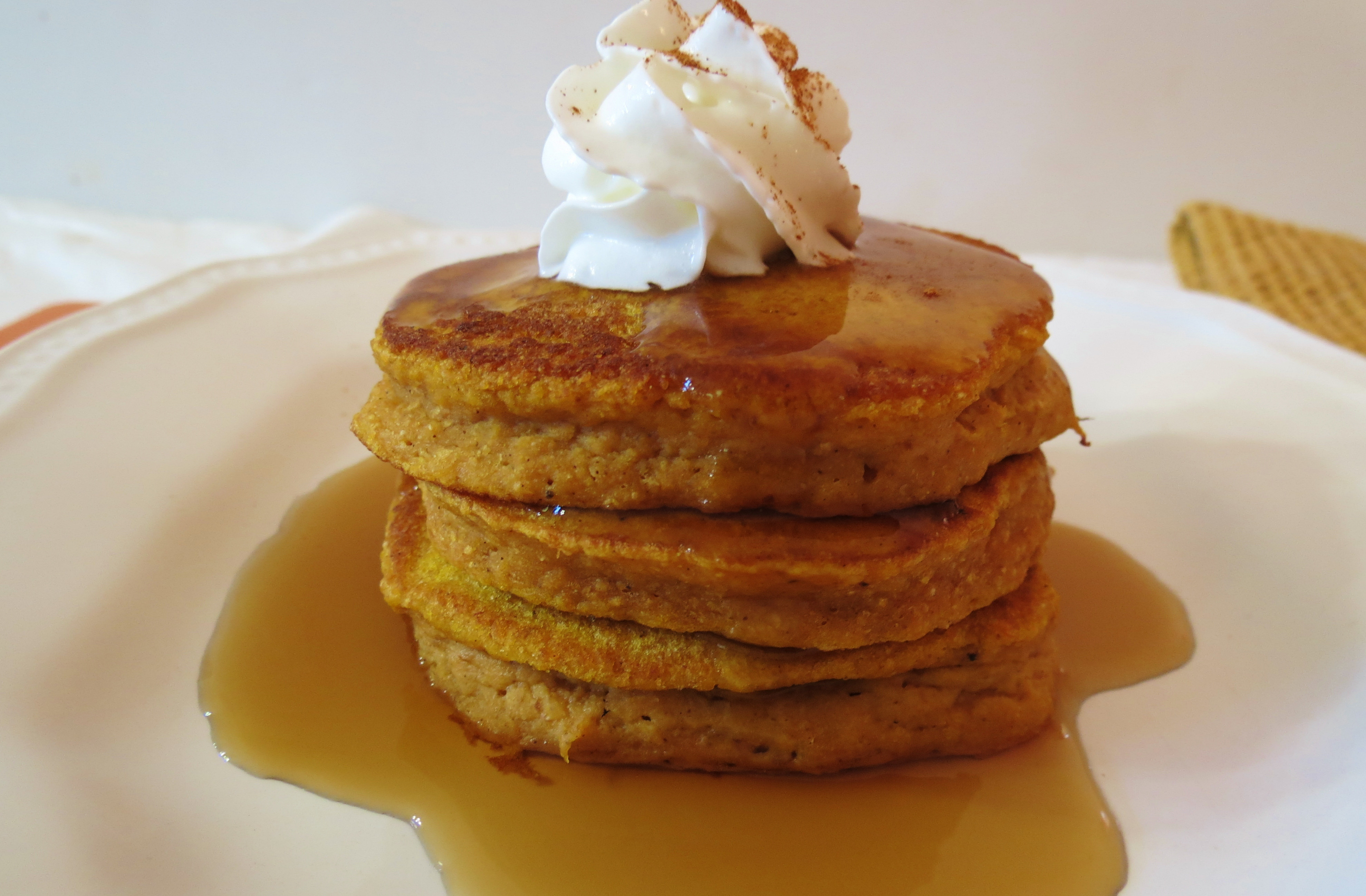 Pumpkin Pancakes Healthy  Pumpkin Pancakes