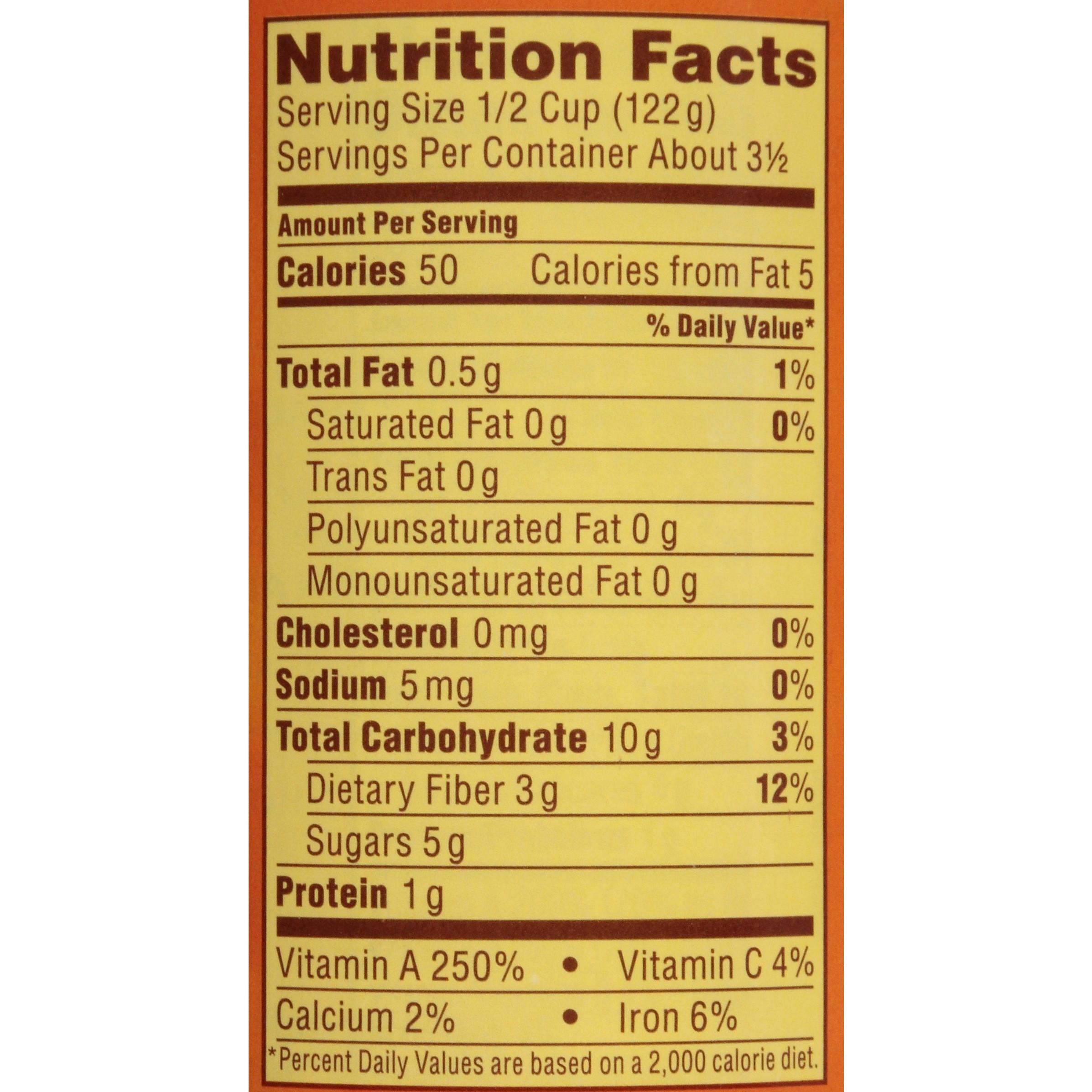 Pumpkin Pie Nutrition  pumpkin puree nutrition