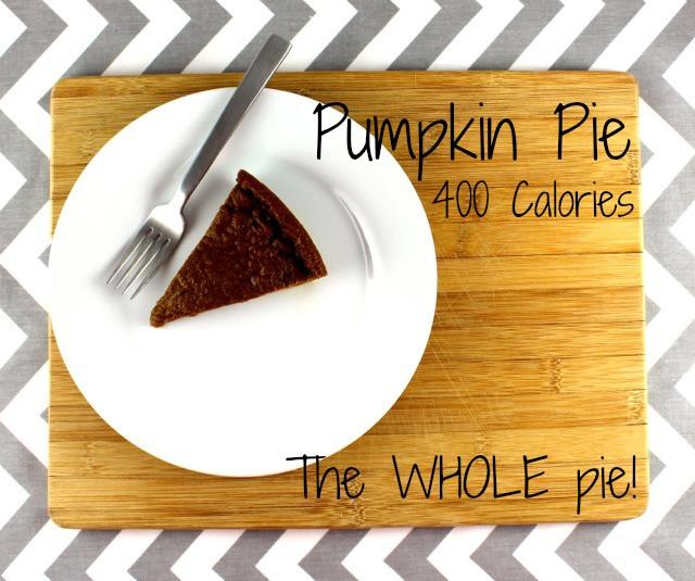 Pumpkin Pie Nutrition  400 calorie pumpkin pie the entire pie