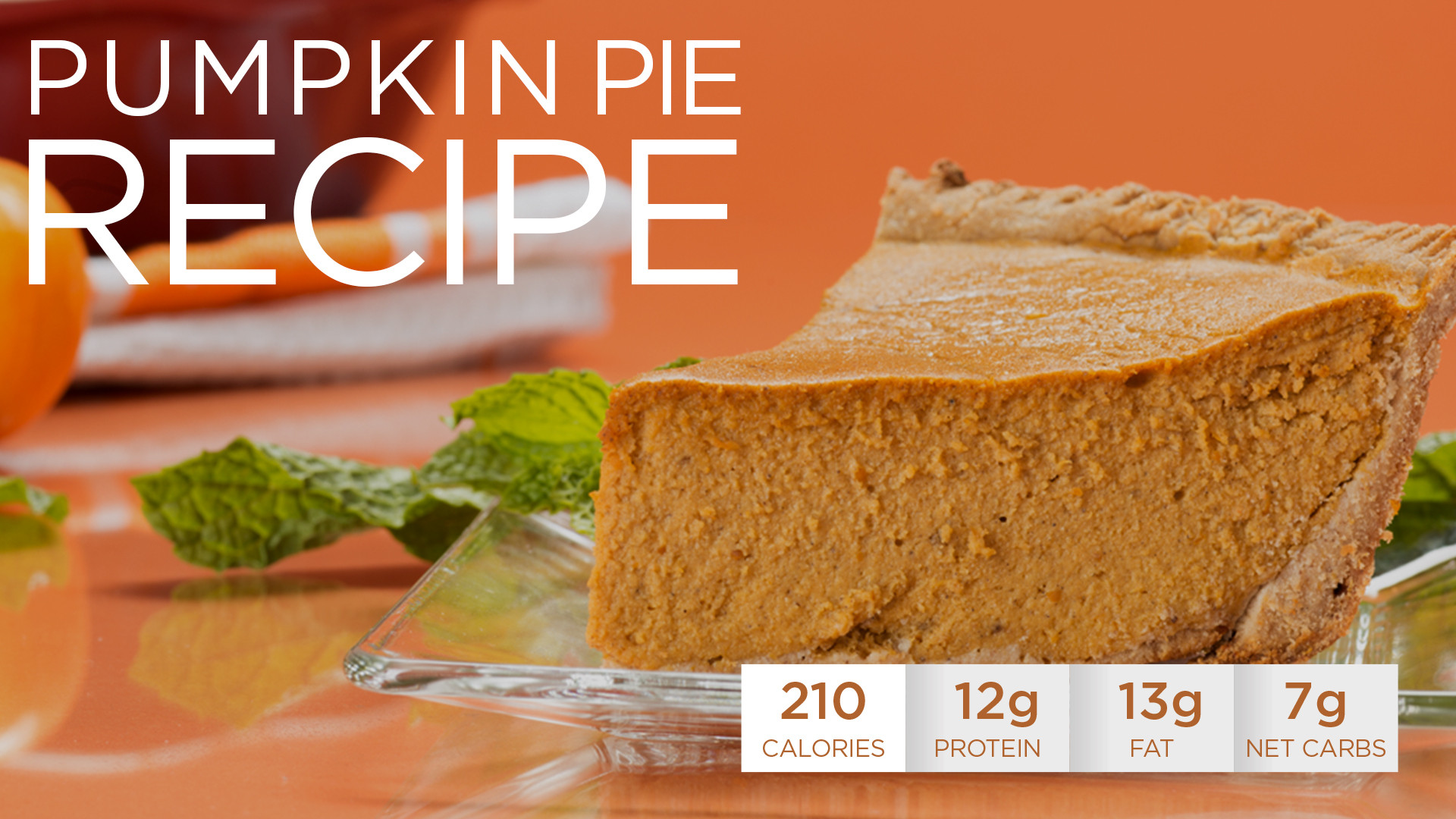 Pumpkin Pie Nutrition  pumpkin pie