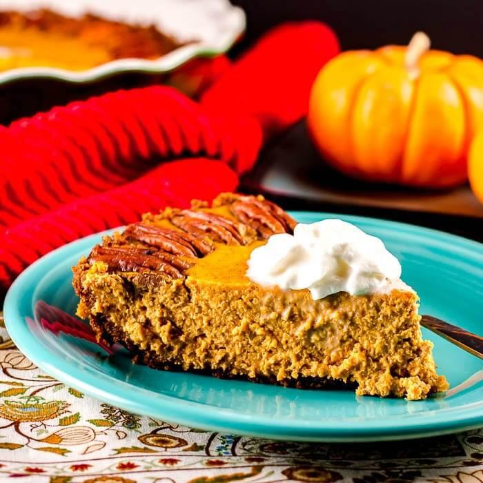 Pumpkin Pie With Gingersnap Crust  Pumpkin Pie with a Gingersnap Crust Flavor Mosaic