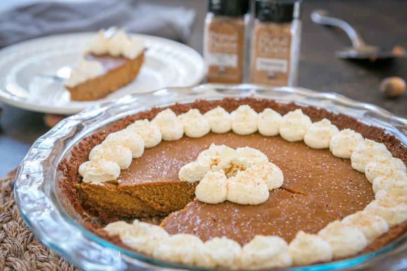 Pumpkin Pie With Gingersnap Crust  Classic Pumpkin Pie with a Gingersnap Crust Primal
