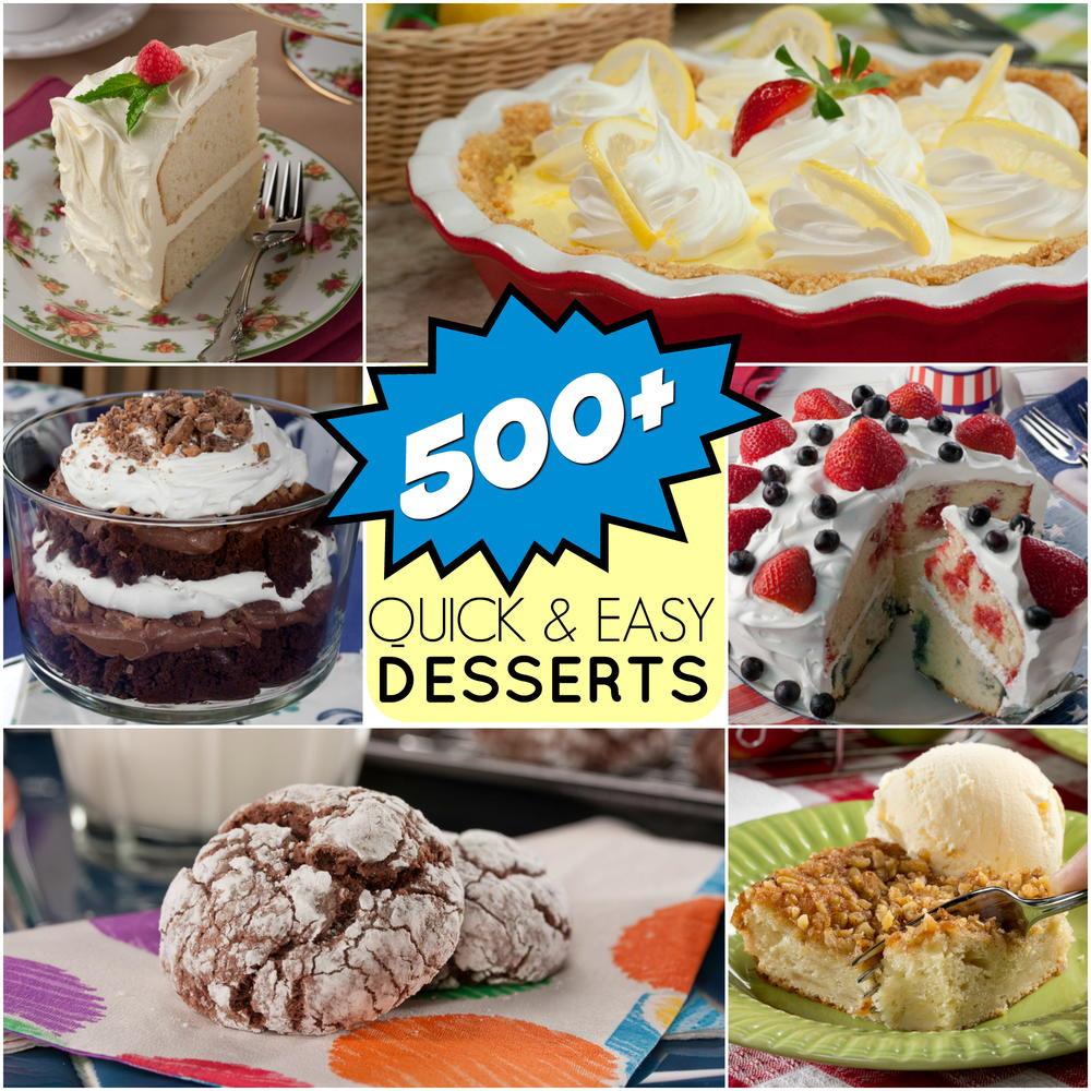 Quick And Easy Desserts  Quick & Easy Dessert Recipes 501 Great Dessert Recipes