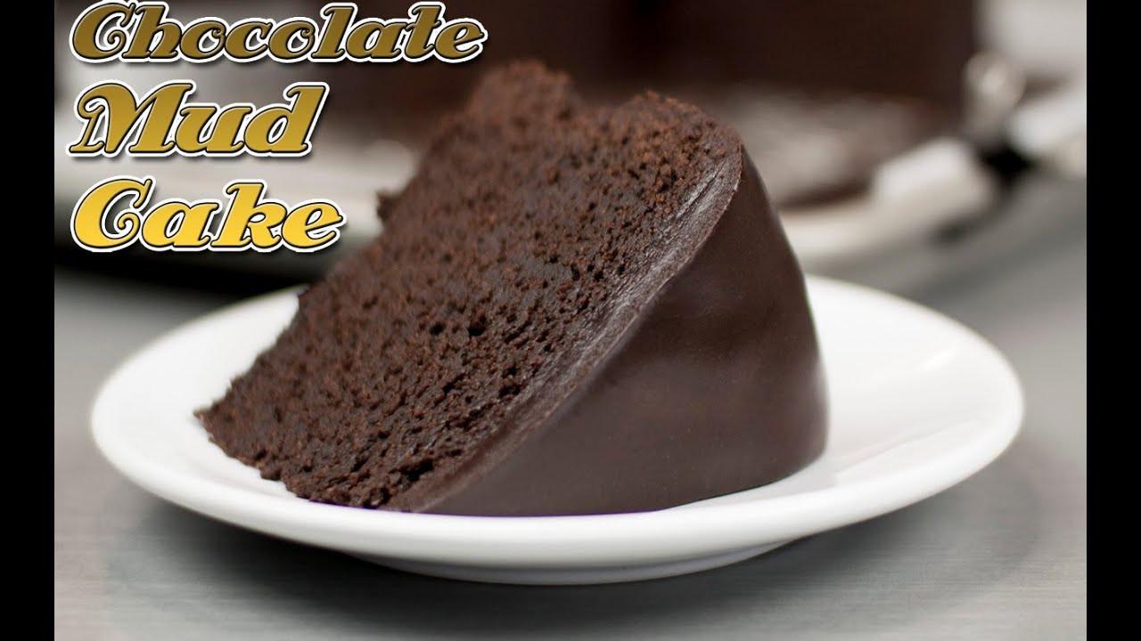Quick Chocolate Cake  Easy Chocolate Mud Cake Recipe Super Fudge Cake recipe