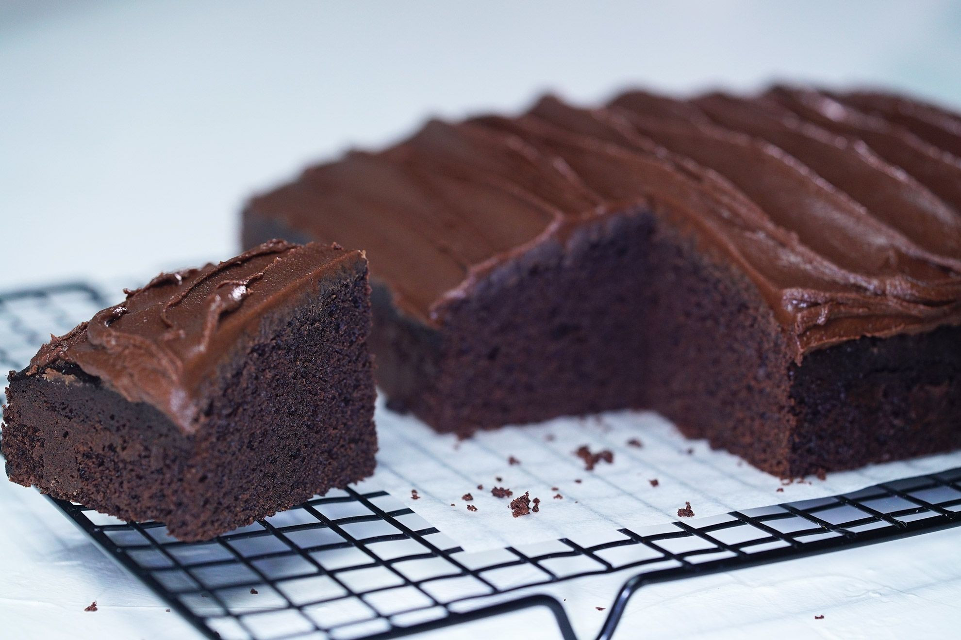 Quick Chocolate Cake  chocolate cake recipe with cocoa powder and self raising flour