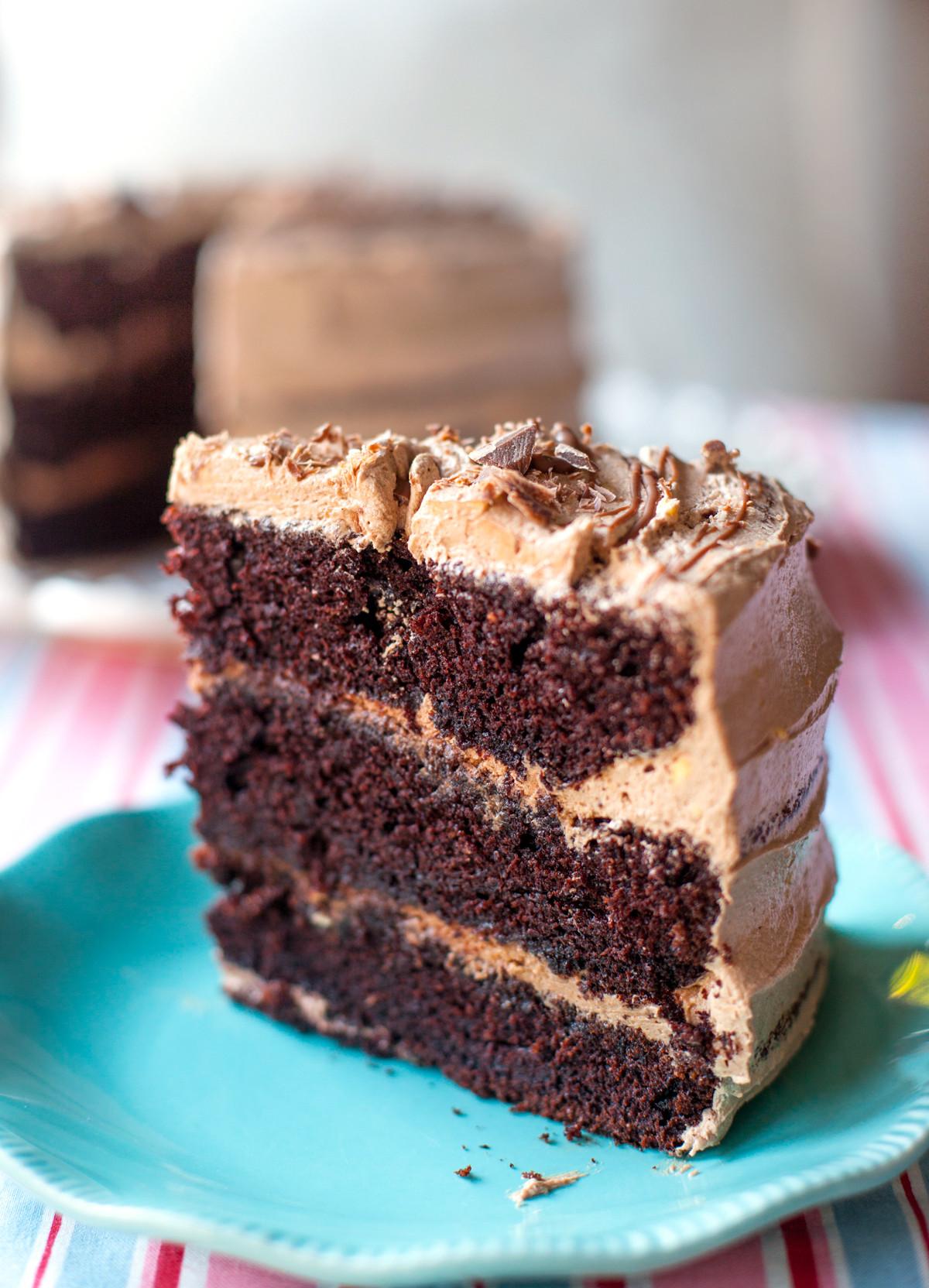 Quick Chocolate Cake  Chocolate Cake Just Easy Recipes