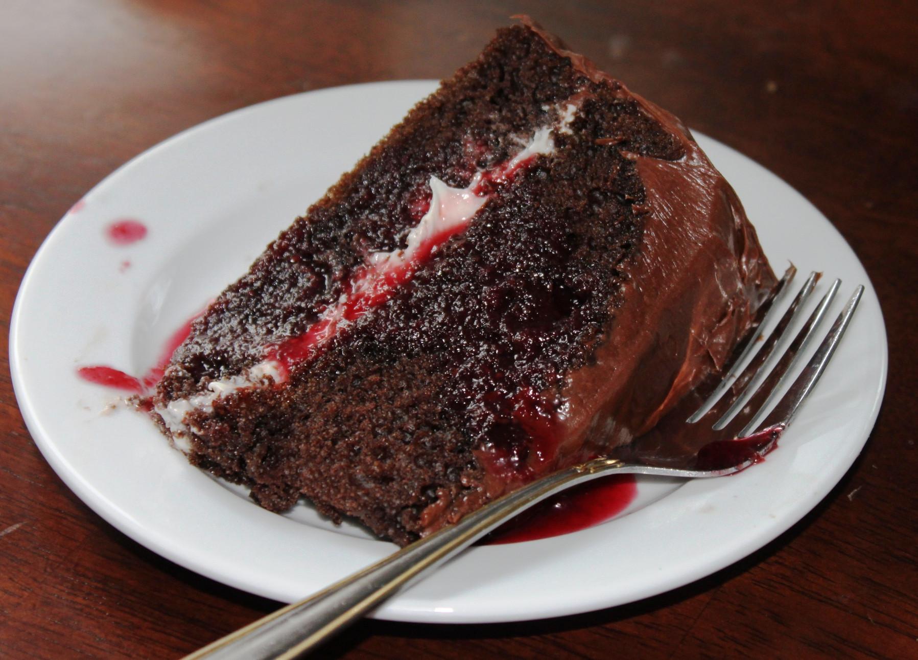 Quick Chocolate Cake  Super Easy Choco Choco Chocolate Cake