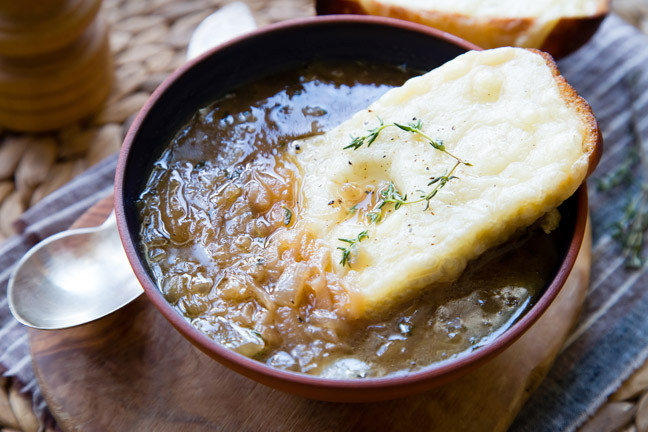 Quick French Onion Soup  Seriously Quick French ion Soup Recipe