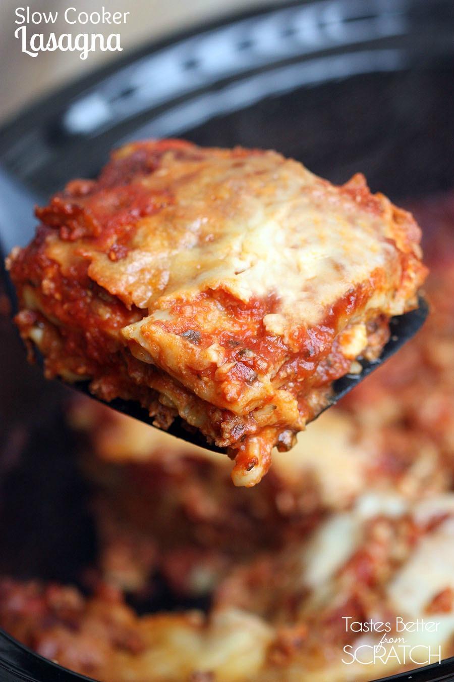 Quick Lasagna Recipe  12 Delicious Lasagna Recipes [easy]