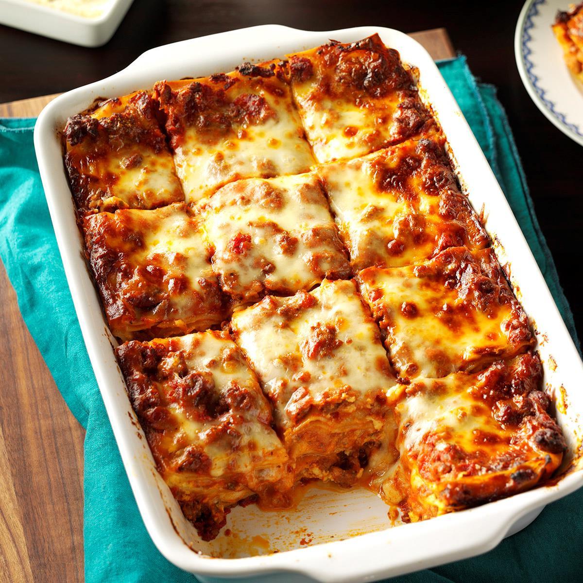 Quick Lasagna Recipe  Make Ahead Lasagna Recipe