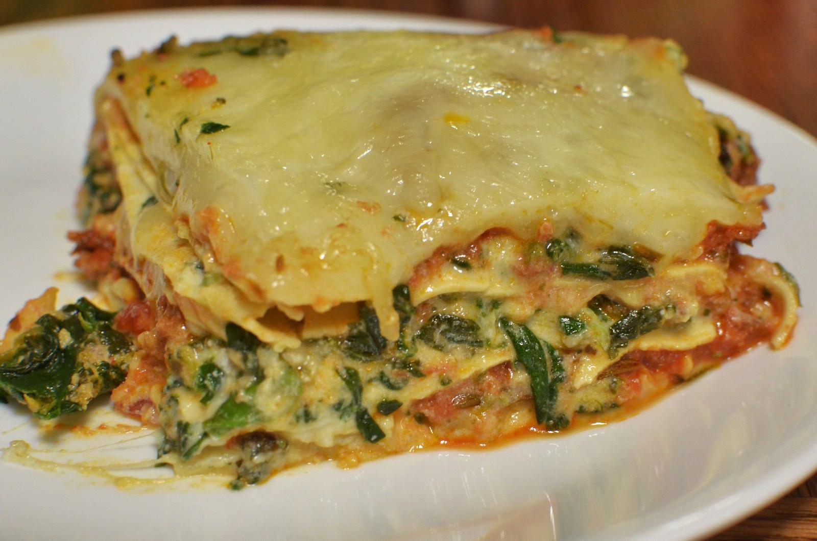 Quick Lasagna Recipe  easy spinach lasagna recipe