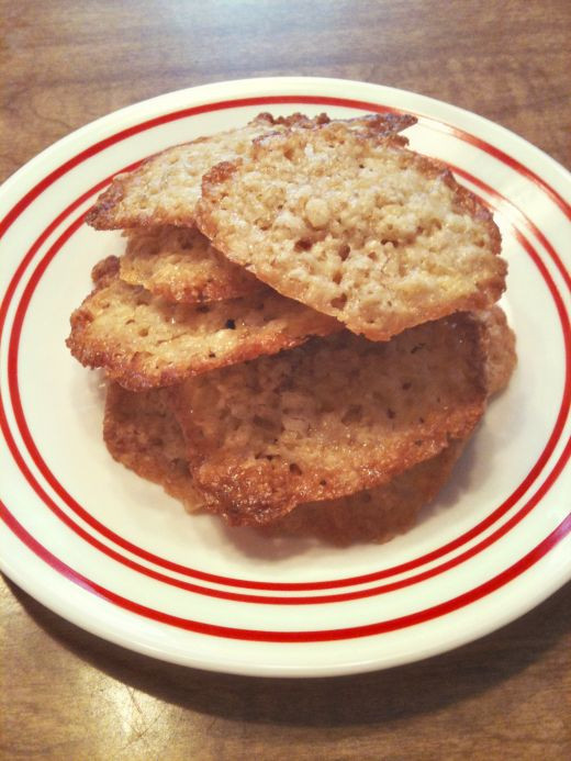 Quick Oatmeal Cookies  Oatmeal Crisps Light delicious & easy Made using quick