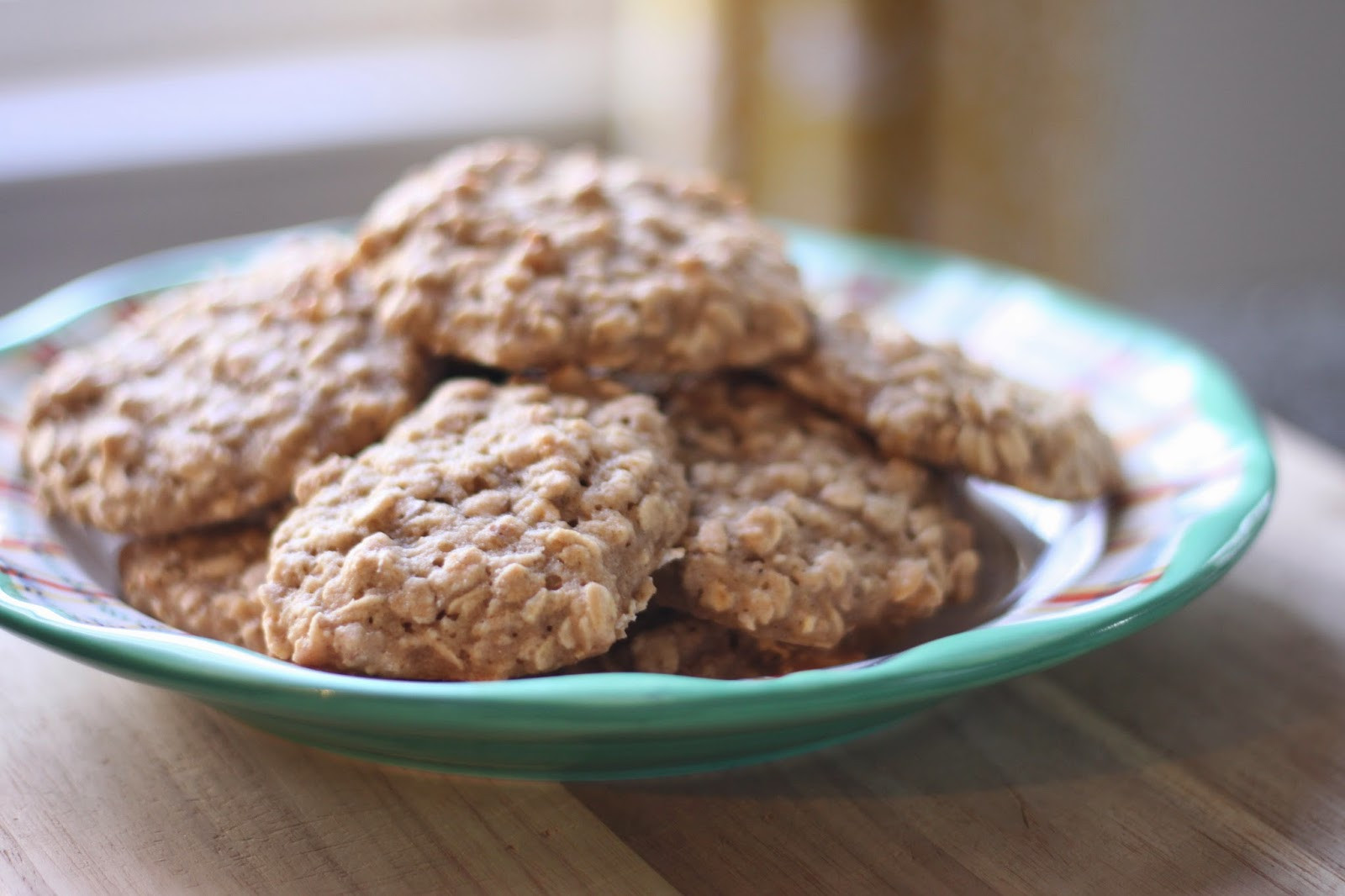 Quick Oatmeal Cookies  quick easy oatmeal cookies Flora & Fauna