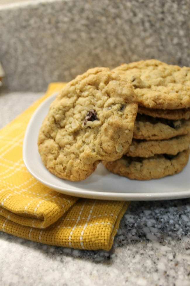 Quick Oatmeal Cookies  Best Oatmeal Raisin Cookie Recipe