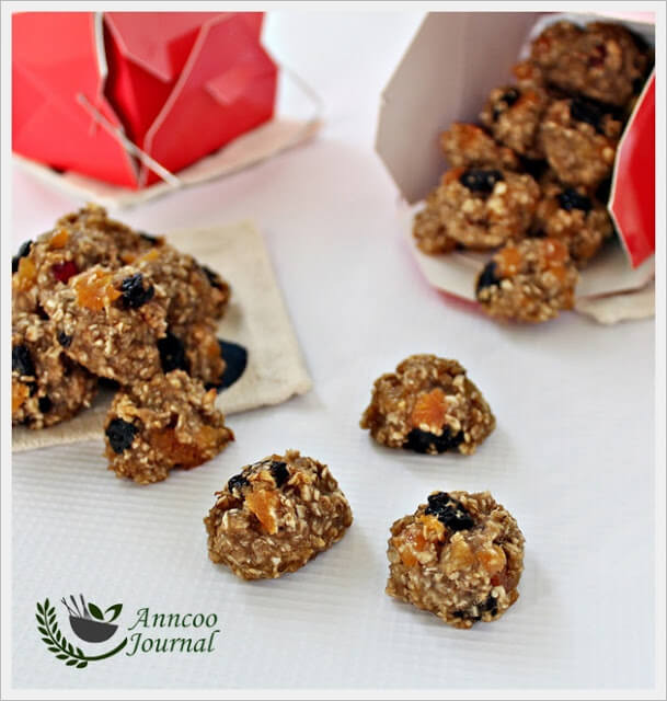 Quick Oatmeal Cookies  Quick Oat Cookies Anncoo Journal