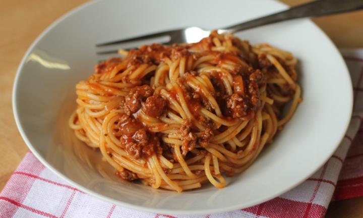 Quick Spaghetti Sauce  Easy spaghetti bolognese recipe Kidspot