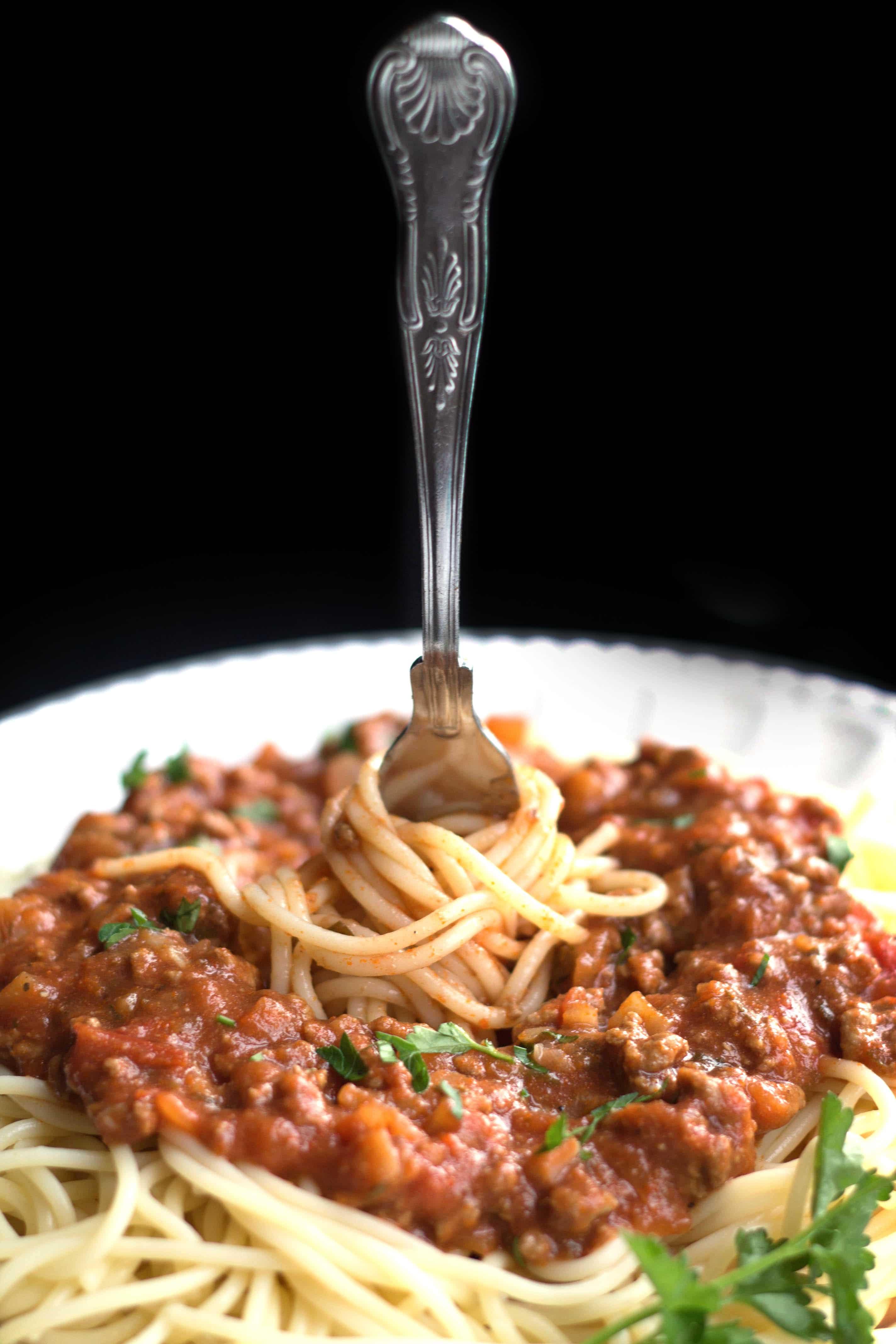 Quick Spaghetti Sauce  Quick & Easy Spaghetti Bolognese Meat Sauce Delicious