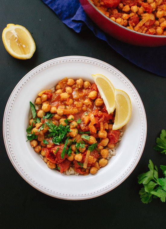 Quick Vegan Recipes  Quick Chana Masala Recipe Cookie and Kate