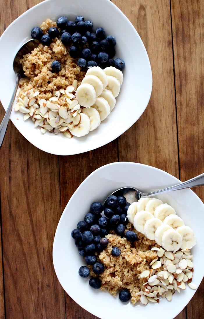 Quinoa Breakfast Bowl  Superfood Quinoa Breakfast Bowl The Wheatless Kitchen