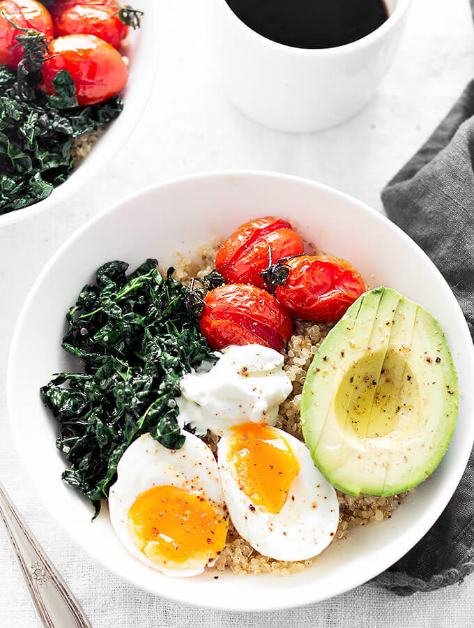 Quinoa Breakfast Bowl  Savory Quinoa Breakfast Bowls As Easy As Apple Pie